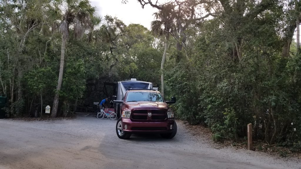 Site 92 at Fort De Soto Park Campground